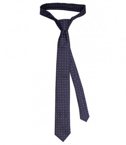 Ties Navona Silk Light BlueBlue