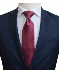 Ties Navona Silk BordeauxBlue