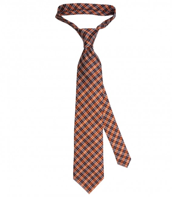 Ties Navona Silk BlueOrange