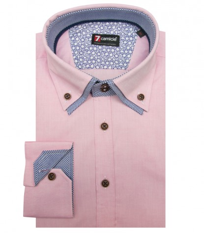 Camisas Marco Polo Super oxford Rosa