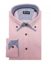 Chemises Marco Polo super oxford Rose