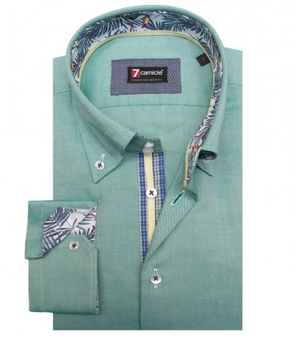 Shirt Roma Oxford Leaf Green