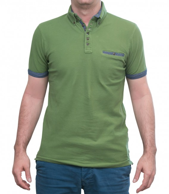 Military Green Polo Shirts
