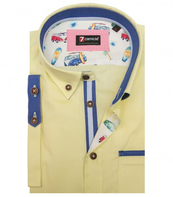 Shirt Leonardo Oxford Yellow