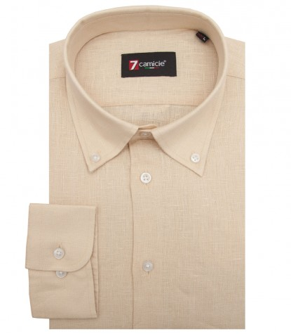 Shirt Leonardo Linen Off White