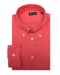 Shirt Leonardo Linen Light Red