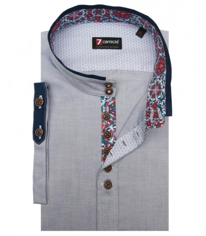 Shirt Caravaggio Super oxford Blu