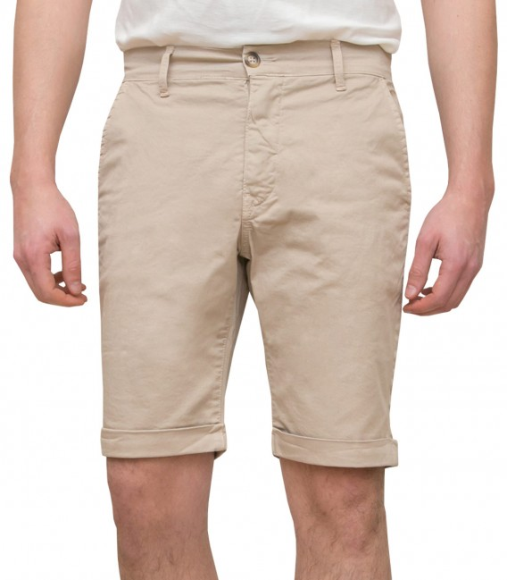Off White Bermuda Shorts