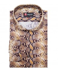 Shirt Napoli Brown Off White