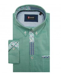Shirt Leonardo Oxford Leaf Green