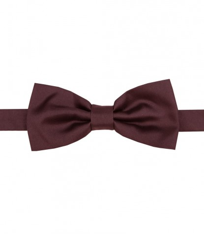 Bow Tie Roma Red Bordeaux