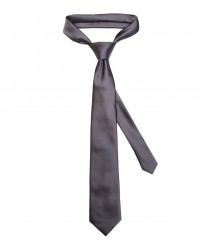 Stain Proof Tie Trevi Polyester Dark Grey