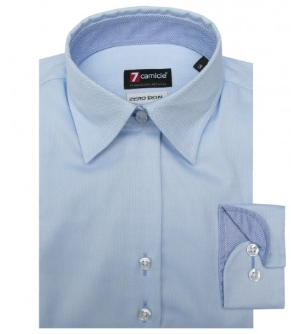 Shirt Linda Oxford Light Blue