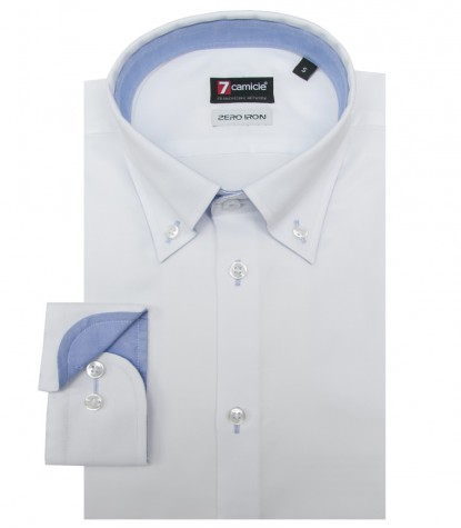Camisas Leonardo Super oxford Branco