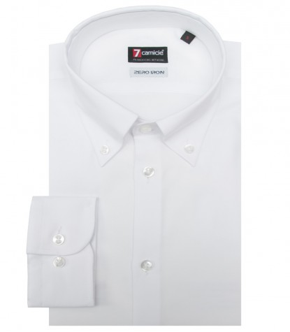 Chemises Leonardo super oxford blanc