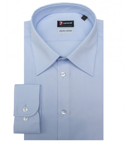 Shirt Romeo twill Light Blue