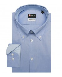 Chemises Leonardo super oxford encre bleue