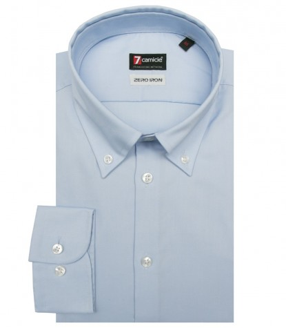 Shirt Leonardo Super oxford Light Blue