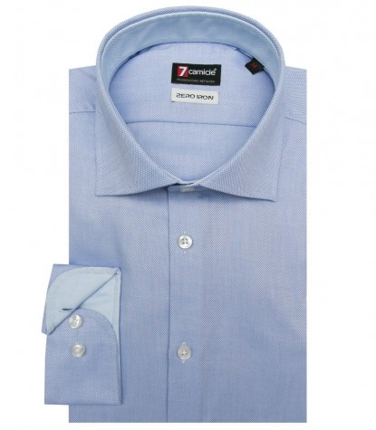 Camicia Firenze Oxford Blu Inchiostro