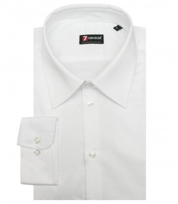 Shirt Romeo Satin White