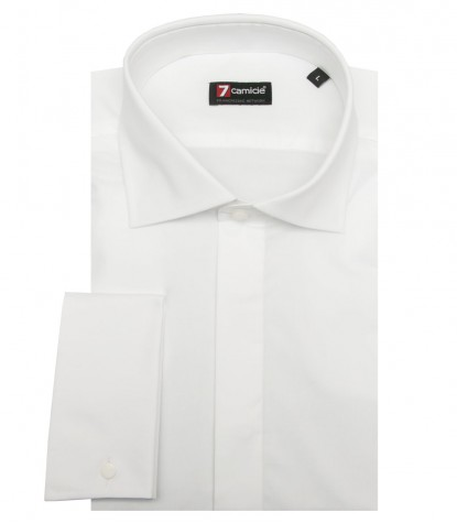 Camisas Firenze popelina stretch Branco