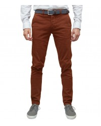 Twill Pants Orange