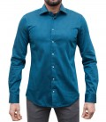 Shirt Firenze Seaport Blue Black
