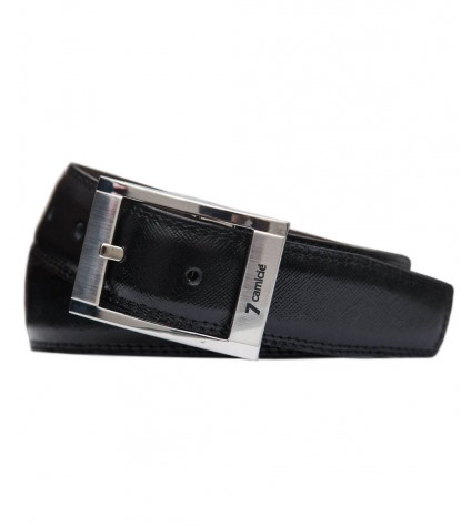 Belt Double Leather BlackBrown