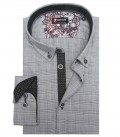 Shirt Leonardo Cotton BlackWhite