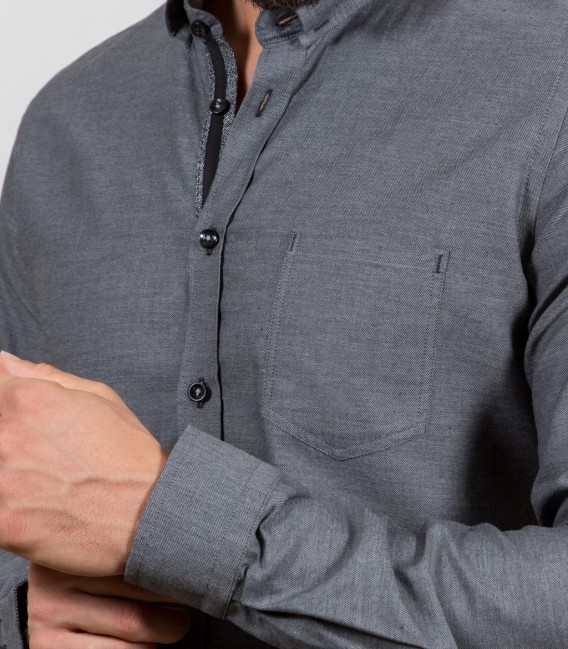 Shirt Men full color Dark Grey