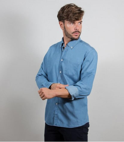 Shirt Leonardo Jeans Light Blue