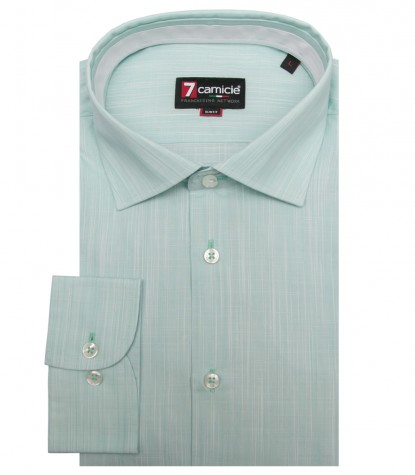 Shirt Firenze Cotton Water Green