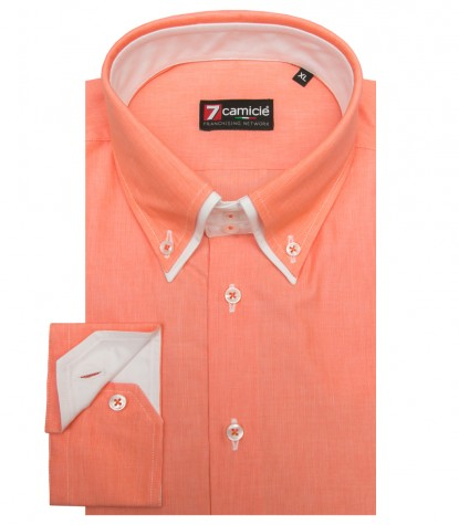Shirt Marco Polo Cotton Light Orange
