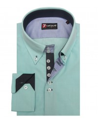 Shirt Roma Cotton Water Green