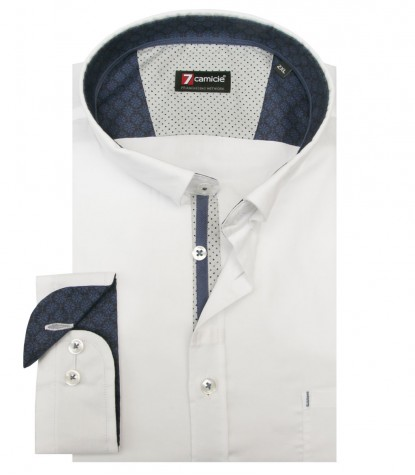 Chemises Romeo Oxford blanc