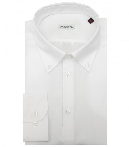 Chemises Bernini Oxford blanc