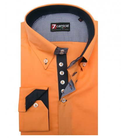 Shirt Roma Cotton Orange