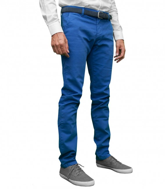 Trousers Twill Ink Blue