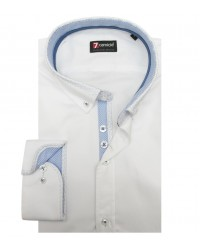 Shirt Leonardo Satin White