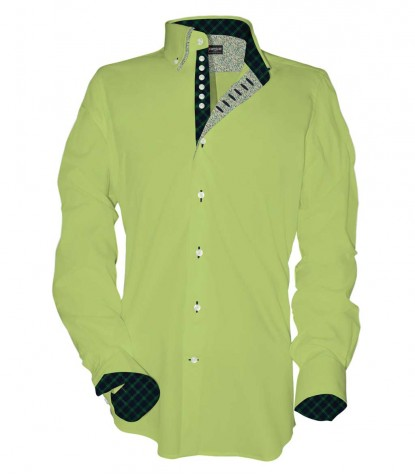 Shirt Donatello poplin Green