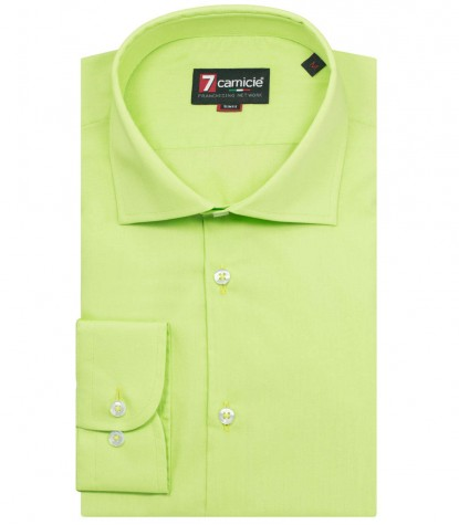 Shirt Firenze poplin Green