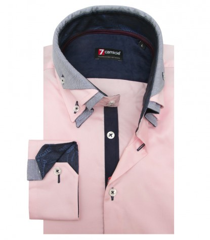 Shirt Vesuvio Satin Light Pink