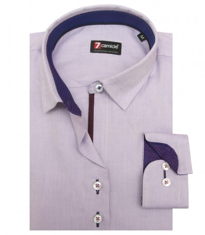 Shirt Linda Oxford Lilac