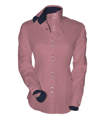 Shirt Linda Cotton Polyester Antique Pink