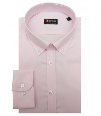 Chemises Leonardo Oxford Rose