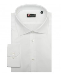 Camicia Firenze Popeline stretch Bianco
