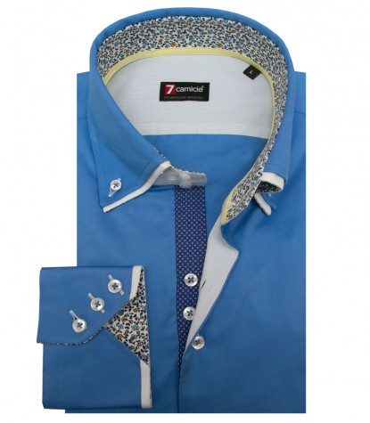 Shirt Colosseo Satin Spectrum Blue