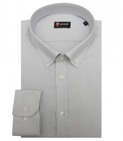 Shirt Leonardo Oxford Light Grey