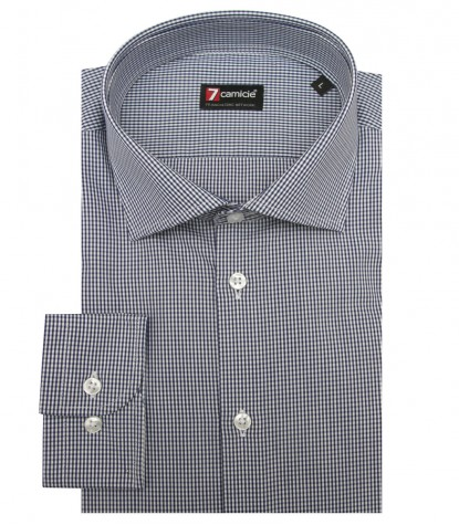 Shirt Firenze Poplin BlueWhite