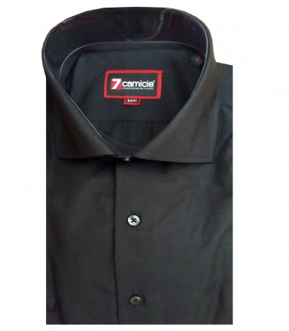 Shirt Firenze Cotton Black